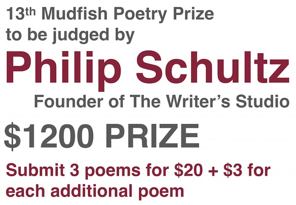 Mudfish Poetry Prize