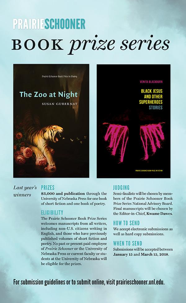 Prairie Schooner Book Prize Series