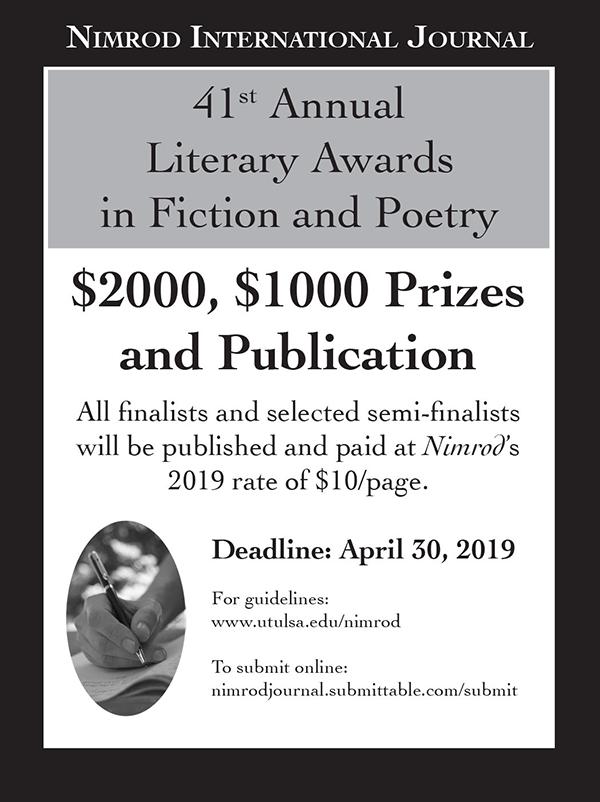 Nimrod Literary Awards