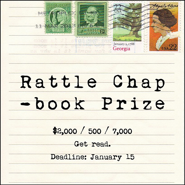 Rattle Chapbook Prize