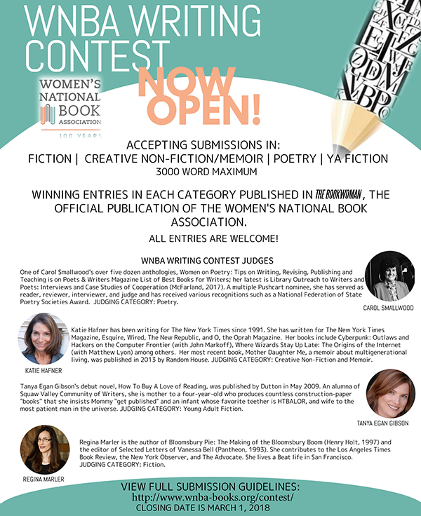 Women's National Book Association: 6th Annual Writing Contest