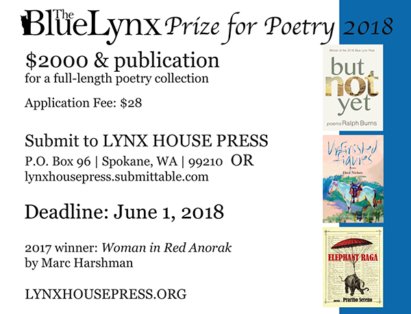 Blue Lynx Prize for Poetry
