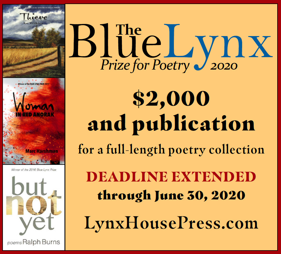 The Blue Lynx Prize for Poetry 2020