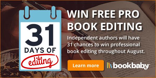 BookBaby - Win Free Pro Book Editing