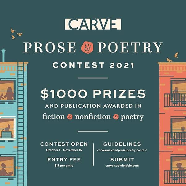 Carve Prose & Poetry Contest