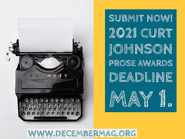 Curt Johnson Prose Awards
