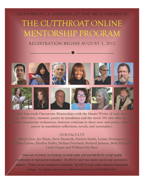 The Cutthroat Online Mentorship Program