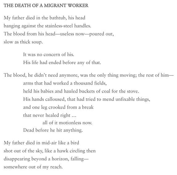 The Death of a Migrant Worker