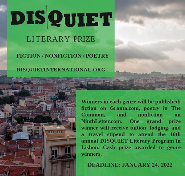 Disquiet Literary Prize