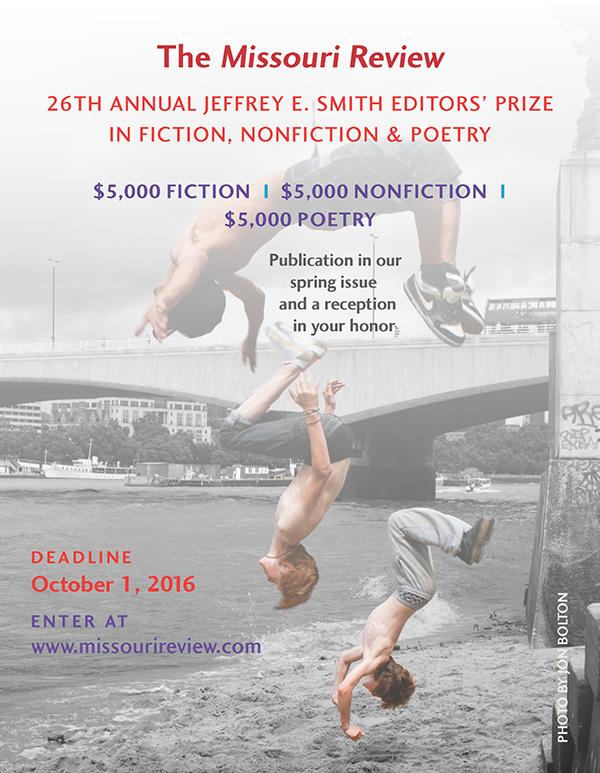 The Missouri Review's 26th Annual Jeffrey E. Smith Editors' Prize