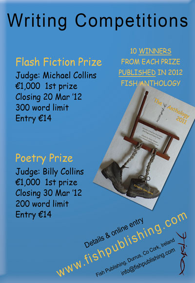 Fish Publishing Writing Competitions
