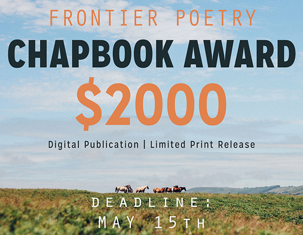 Frontier Poetry Chapbook Award