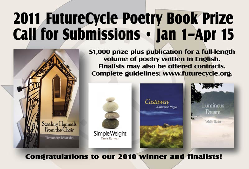 2011 FutureCycle Poetry Book Prize