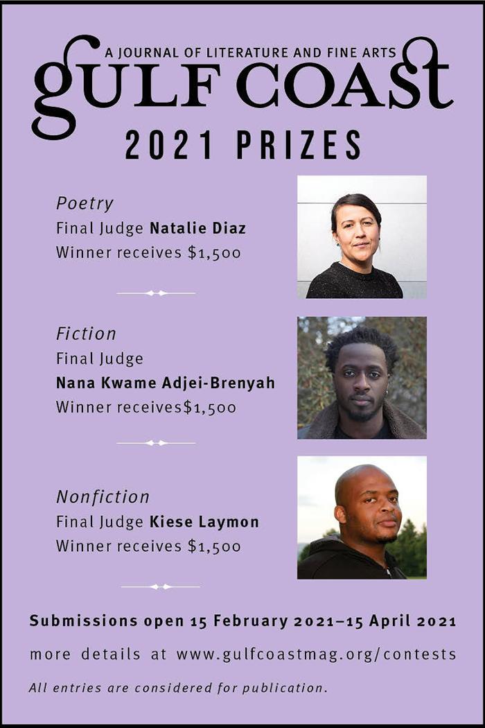 Gulf Coast 2021 Prizes
