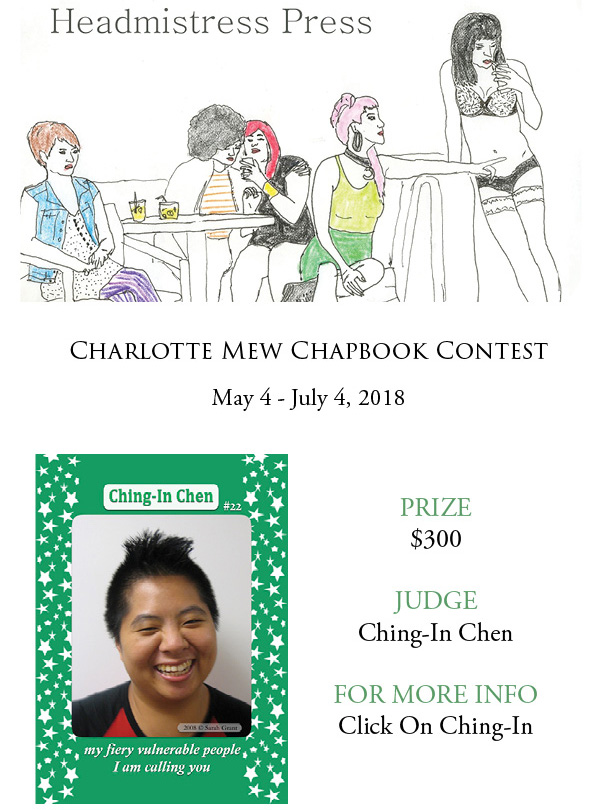 Charlotte Mew Chapbook Contest