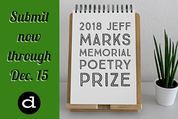 2018 Jeff Marks Memorial Poetry Prize