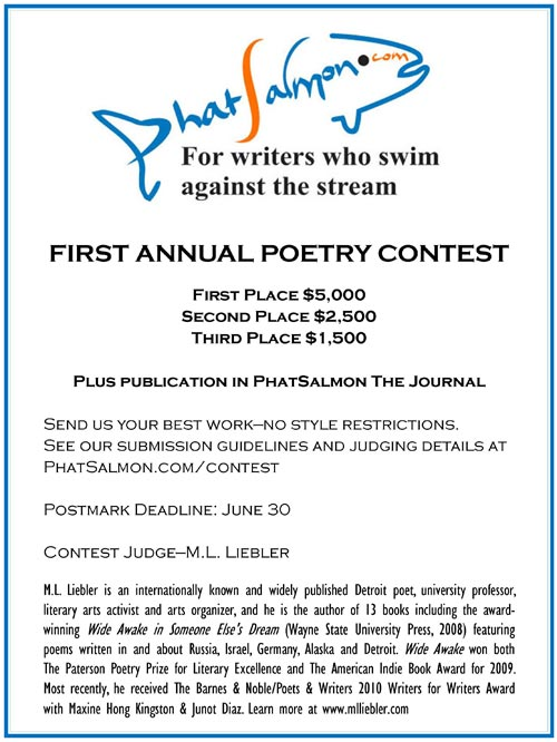 PhatSalmon Poetry Contest