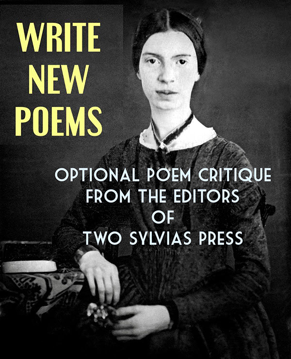 Optional poem critique from the editors of Two Sylvias Press
