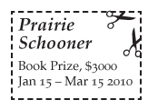 Prairie Schooner Book Prizes in Poetry and Short Fiction
