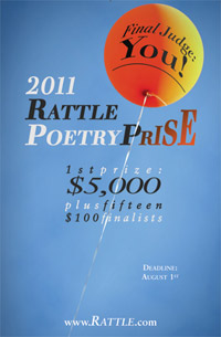 2011 Rattle Poetry Prize