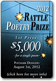 The 2012 Rattle Poetry Prize