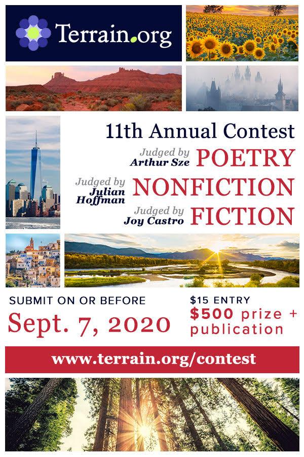 Terrain.org 11th Annual Contest