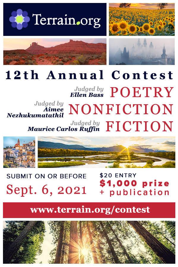 Terrain.org's 12th Annual Contest