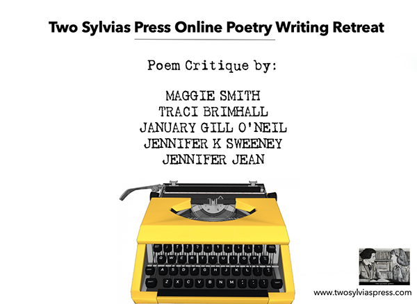Two Sylvias Press Online Poetry Writing Retreat