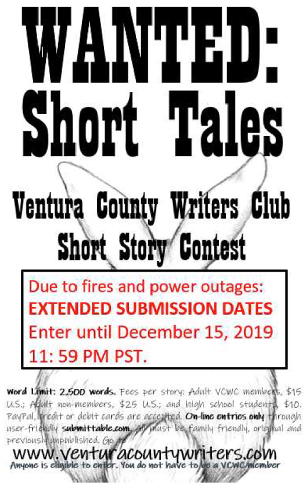 Ventura County Writers Club Short Story Contest