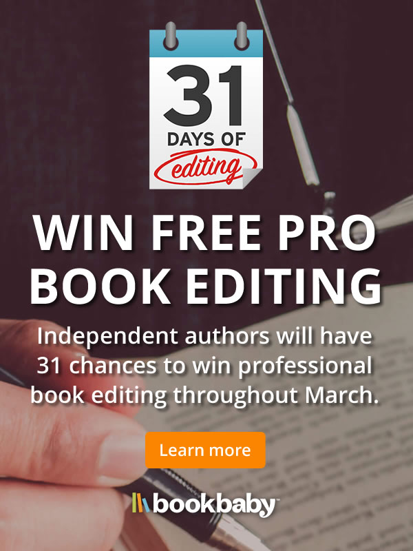 Give your book the professional editing it deserves!