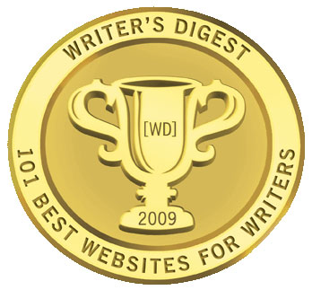 "One of the ""101 Best Websites for Writers"" (Writer's Digest, 2005-2010)"