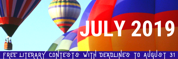 Winning Writers Newsletter - July 2019