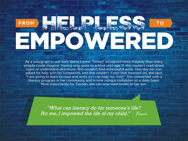 ProLiteracy: From Helpless to Empowered