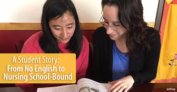 A Student Story: From No English to Nursing School-Bound