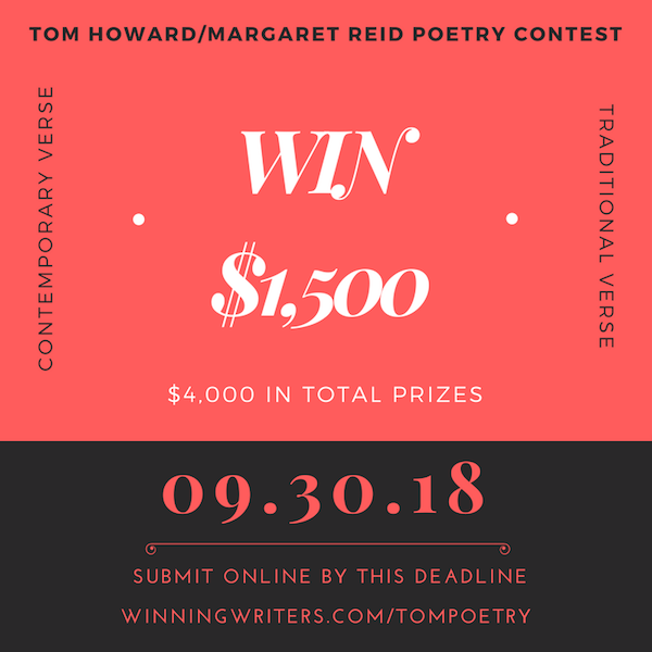 Tom Howard/Margaret Reid Poetry Contest